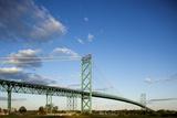 Ponte Ambassador, Detroit, Michigan Stampa fotografica di Paul Souders