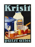 Krisit - Putzt Alles Poster Giclee Print