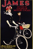 James - the King of Cycles and Motorcycles Poster Photographic Print