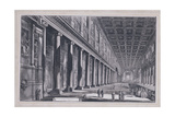 Interior of the Basilica of S. Maria Maggiore, Rome Giclee Print by Giovanni Battista Piranesi
