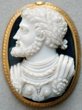 Cameo of Charles V, Holy Roman Emperor Photographic Print