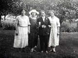 Baby Shower Party, Ca. 1924 Photographic Print