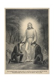 Joseph Smith, Jr. and Oliver Cowdery with John the Baptist Giclee Print