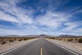 Paul Souders - Desert Highway, Beatty, Nevada Fotografická reprodukce