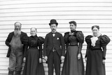 The Family Poses in their Sunday Best, Ca. 1900 Photographic Print
