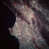 Los Angeles from Space Photographic Print