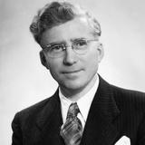 Middle-Aged German Businessman Portrait, Ca. 1948 Photographic Print