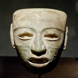 Lithic Mask from Teotihuacan Photographic Print