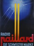 Radio Paillard: Die Schweizer Marke Poster Photographic Print