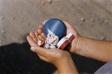 Child Holding Toys Photographic Print by William P. Gottlieb