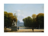 The Tuilleries Garden, Paris from Circle of Louis Gauffier Giclee Print