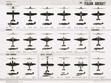 Poster of Italian Combat and Transport Aircraft Photographic Print