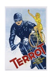 Terrot Cycles Poster Impression giclée