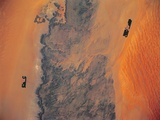 Libyan Desert from Space Photographic Print