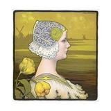 La Reine Wilhelmine Giclee Print by Paul Berthon