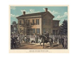 Abraham Lincoln's Return Home Giclee Print