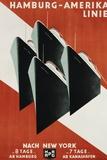 Hamburg-Amerika Linie Poster Photographic Print by Henning Koeke