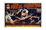 Tom Mix Circus Poster Giclee Print