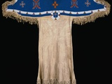 Late 19th Century Sioux Dress Decorated with Beadwork Photographic Print