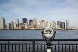 Manhattan Skyline from New Jersey Fotografiskt tryck av Paul Souders