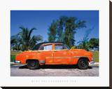 Varadero Taxi Stretched Canvas Print by Bent Rej