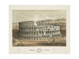 Coliseum at Rome Giclee Print