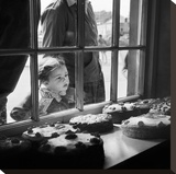Cake Shop, Padstow, Cornwall, 1946-59 Stretched Canvas Print by John Gay