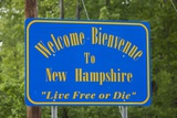 Welcome to New Hampshire Sign Photographic Print by Paul Souders