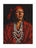 Juan, Pueblo Indian Giclee Print by Eanger Irving Couse