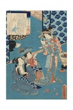 Tale of the Courtesan Kokonoe Giclee Print by Utagawa Toyokuni