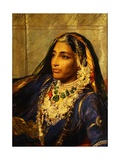 Portrait of Rani Jindan Singh Giclee Print by George Richmond