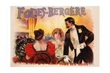 Folies-Bergere Poster Giclee Print