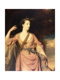 Lady Anne Dawson Giclee Print by Sir Joshua Reynolds