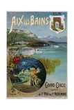 Aix Les Bains Poster Giclee Print by Hugo D'Alesi
