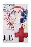 Howard Chandler Christy - The Spirit of America Recruitment Poster Digitálně vytištěná reprodukce