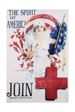 The Spirit of America Recruitment Poster Giclee Print by Howard Chandler Christy