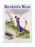 Reckitt's Blue Dye Advertisement Poster Giclee Print