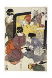 Act from the Series the Treasury of the Loyal Retainers Giclee Print by Kitagawa Utamaro