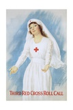 Third Red Cross Roll Call Poster Giclee Print by Haskell Coffin