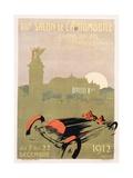 Salon De L'Automobile Poster Giclee Print by Rene Roussef