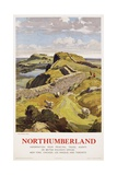 Northumberland Poster Giclee Print by Leonard Russell Squirrell