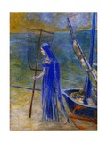 The Fisherwoman Giclee Print by Odilon Redon