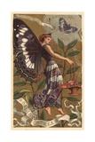 Salis Caprea Perfume Advertisement Giclee Print