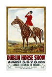 Dublin Horse Show Poster Giclee Print by Olive Whitmore