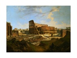 The Colisseum Giclee Print by Jean Victor Louis Faure