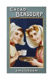 Dutch Advertising Poster for Cacao Bensdorp Giclee Print