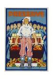 Preserve War Effort Poster Giclee Print
