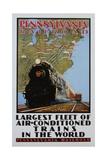 Pennsylvania Railroad Poster Giclee Print by Grif Teller