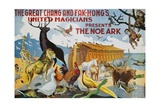 Early Twentieth-Century Spanish Poster for the Noe Ark Wydruk giclee