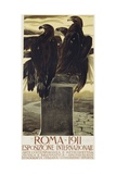 Esposizione Internationale, Roma 1911 Poster Giclee Print by Duilio Cambellotti
